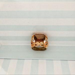 Gold Statement Ring | Sz. 8